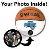 Magic NBA Collectible Miniature Basketball - Picture Inside - FANZ Collectibles