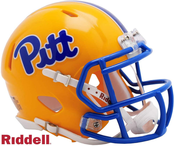 Pittsburgh Panthers College Football Collectible Riddell Mini Helmet - Picture Inside - FANZ Collectibles
