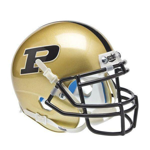 Purdue Boilermakers College Football Collectible Schutt Mini Helmet - Picture Inside - FANZ Collectibles