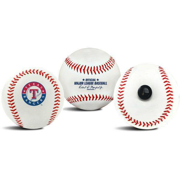 Texas Rangers MLB Collectible Baseball - Picture Inside - FANZ Collectibles