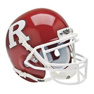 Rutgers Scarlet Knights College Football Collectible Schutt Mini Helmet - Picture Inside - FANZ Collectibles