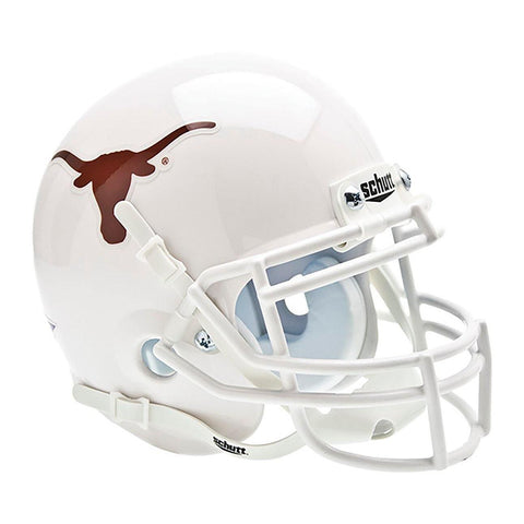 Texas Longhorns College Football Collectible Schutt Mini Helmet - Picture Inside - FANZ Collectibles