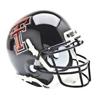 Texas Tech Red Raiders College Football Collectible Schutt Mini Helmet - Picture Inside - FANZ Collectibles - Fanz Collectibles