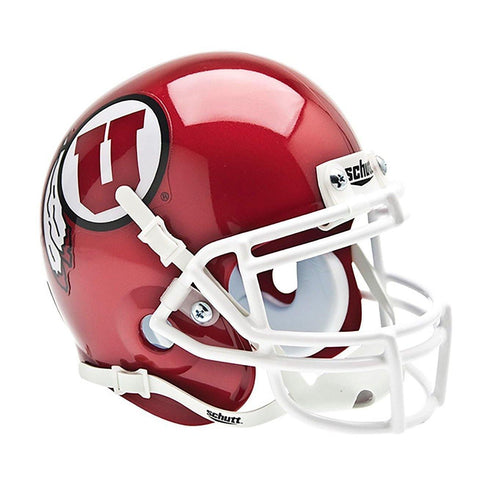 Utah Utes College Football Collectible Schutt Mini Helmet - Picture Inside - FANZ Collectibles