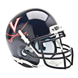 Virginia Cavaliers College Football Collectible Schutt Mini Helmet - Picture Inside
