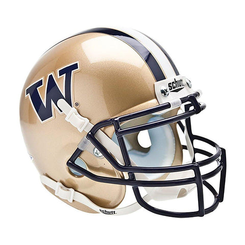 Washington Huskies College Football Collectible Schutt Mini Helmet - Picture Inside - FANZ Collectibles