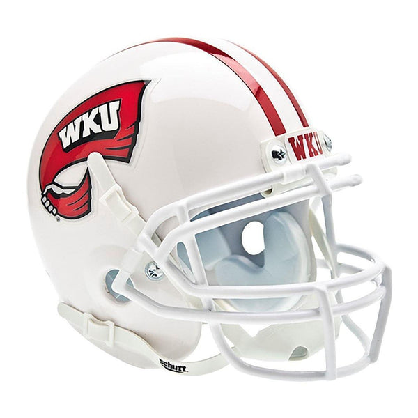 Western Kentucky Hilltoppers College Football Collectible Schutt Mini Helmet - Picture Inside - FANZ Collectibles