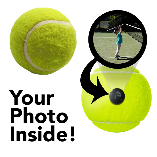 Tennis Ball - Picture Inside - FANZ Collectibles