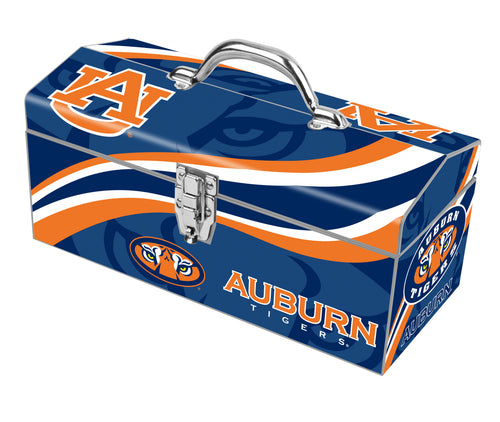 Auburn University Tigers Steel Box