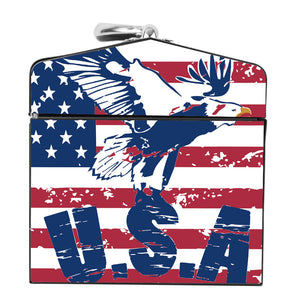 Old Glory Eagle Fly Deco Box