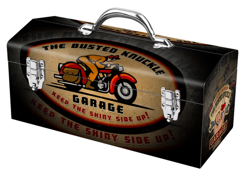 50754 Busted Knuckle Motorcycle Deco Box