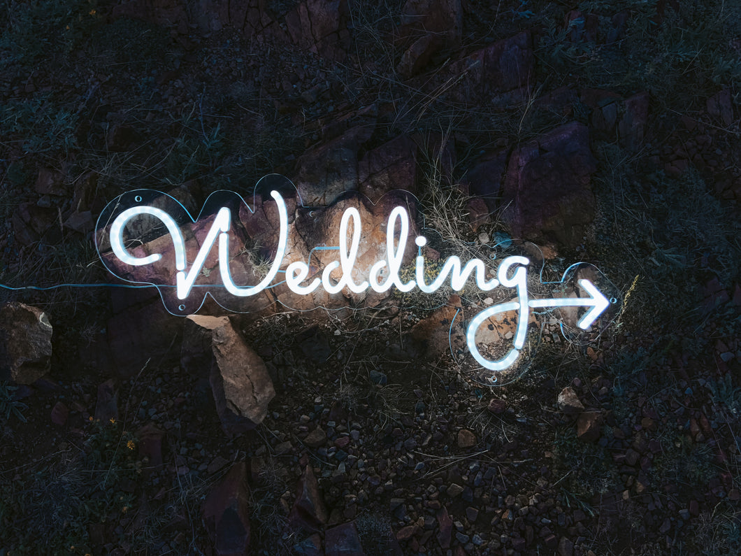 WEDDING direction. ⚡️Neon Sign ⚡️