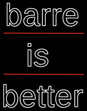barre is better