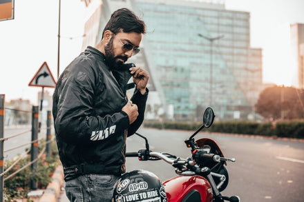 Top 4 Reasons to Wear a Motorcycle Jacket