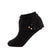 jrp socks black dreamy lace anklet sock with bows
