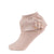 jrp socks blush dreamy ruffle lace anklet sock