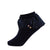 jrp socks navy dreamy ruffle lace anklet sock