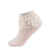 jrp socks cream dreamy lace anklet ruffle sock