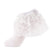 jrp sock girls white floral lace ruffle anklet sock