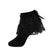 jrp socks black floral lace anklet ruffle sock