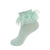 easter polka dot lace anklet mint jrp socks
