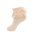 easter polka dot lace anklet peach jrp socks