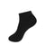 BLACK SPORT RIB RIBBED SHORT CREW SOCK JRP SOCKS