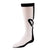 jrp socks girls black white sweety knee high sock