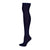 Ribbed Thigh High Sock Navy