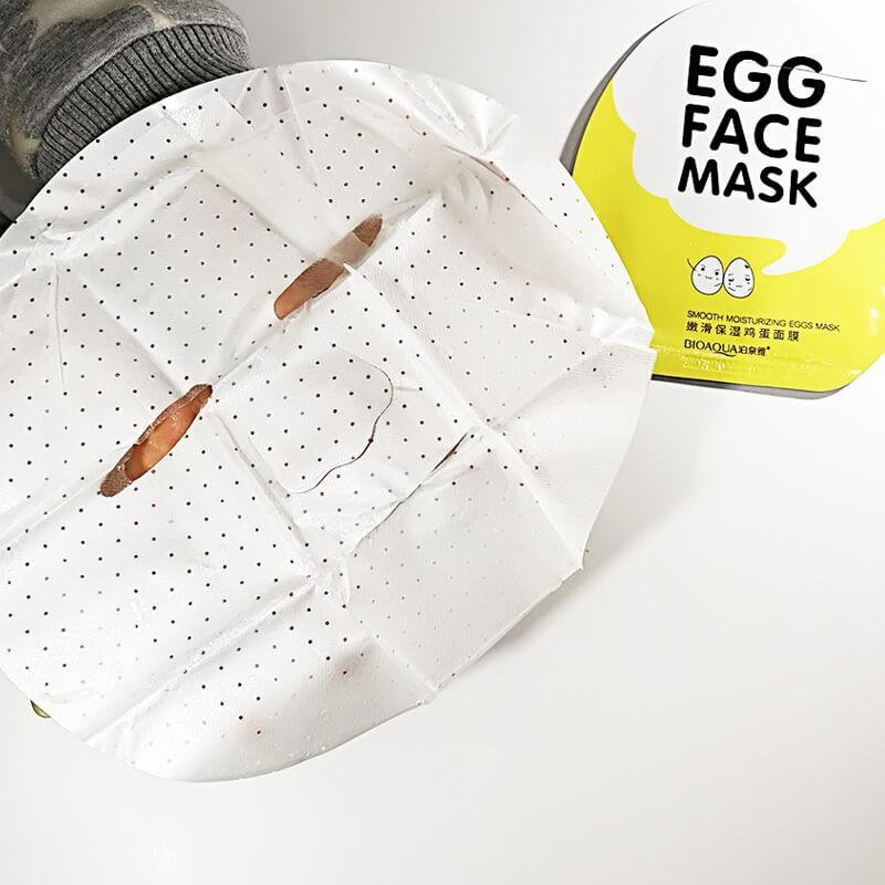 Egg Facial Mask - Smooth Moisturizing - BIOAQUA? OFFICIAL STORE