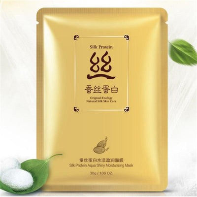 Silk Protein - Original Ecology Natural Silk Aqua Shiny Moisturizing Mask - BIOAQUA? OFFICIAL STORE