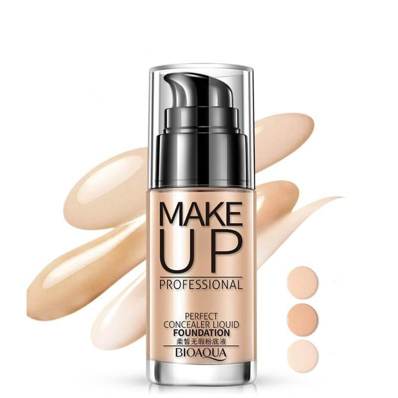 Perfect Concealer Liquid Foundation - Professional Makeup (FREE Shipped By DHL, 3-7 Business Days) - BIOAQUA? OFFICIAL STORE