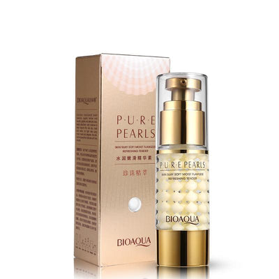 PURE PEARLS - Skin Silky Soft Hydra Moist Flawless Refreshing Tender Collagen Hyaluronic Acid Serum - BIOAQUA? OFFICIAL STORE