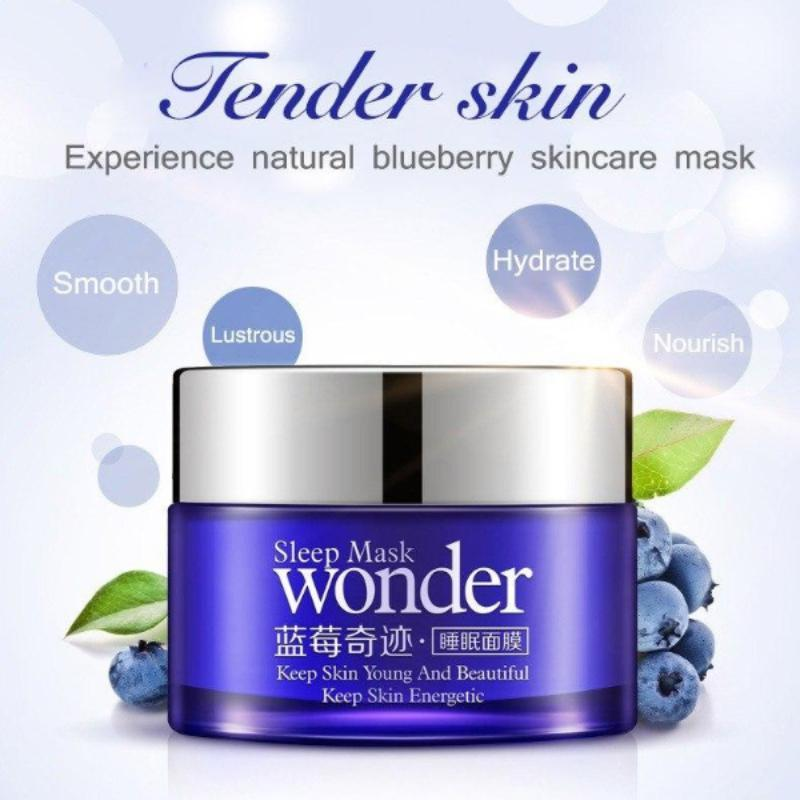 Sleep Mask Natural Blueberry Wonder Facial Cream