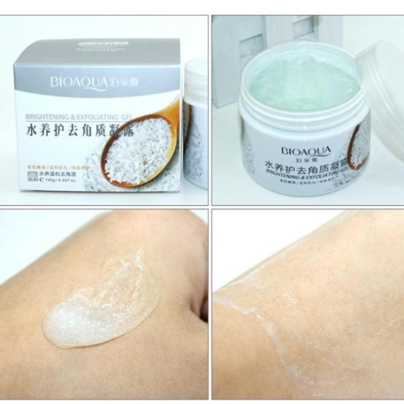 Exfoliating Gel Body Cream