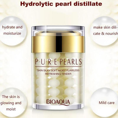 PURE PEARLS - Skin Silky Soft Moist Flawless Refreshing Tender Hydra Serum - BIOAQUA? OFFICIAL STORE