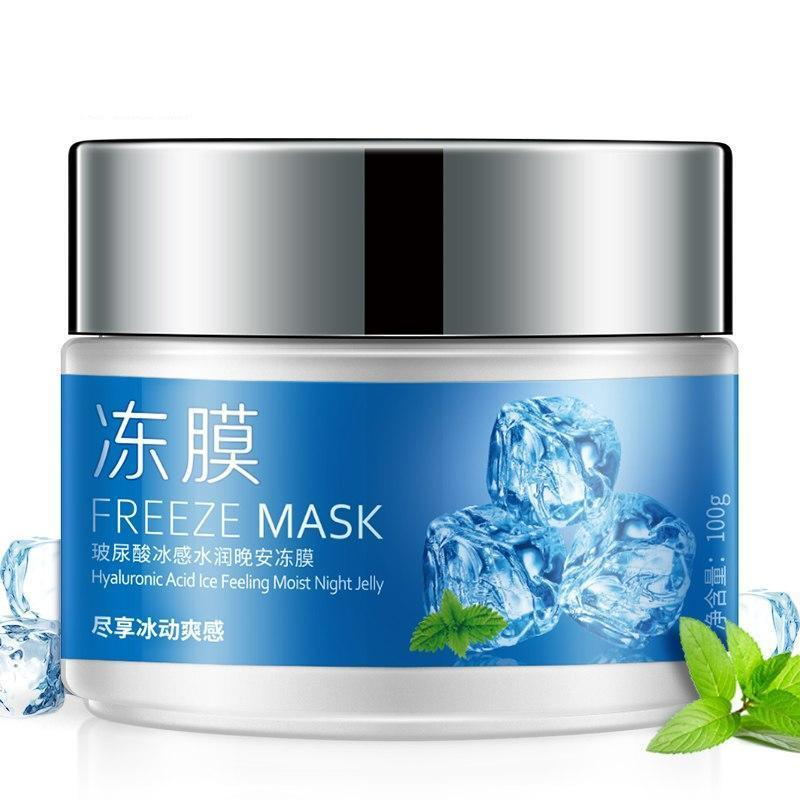FREEZE Ice Feeling Facial Jelly Mask
