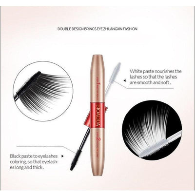 Fashion Double Head Mascara - Waterproof & Thick Lengthning Eyelashes - BIOAQUA? OFFICIAL STORE