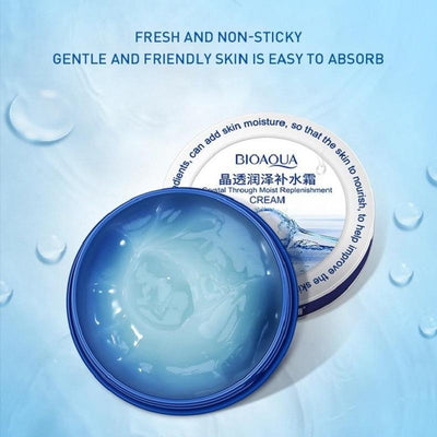 Crystal Through Moist Replenishment Cream - Lifting Firming & Anti Wrinkle - BIOAQUA? OFFICIAL STORE
