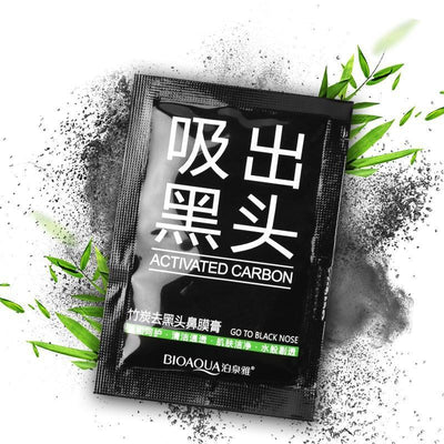 Activated Carbon Nose Blackhead Remover Mask - Go To Black Nose - BIOAQUA? OFFICIAL STORE