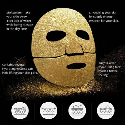 24 Karat Gold Facial Mask - Collagen Nourishing Crystal