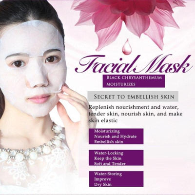 Mexican Daisy Giant Water Facial Mask