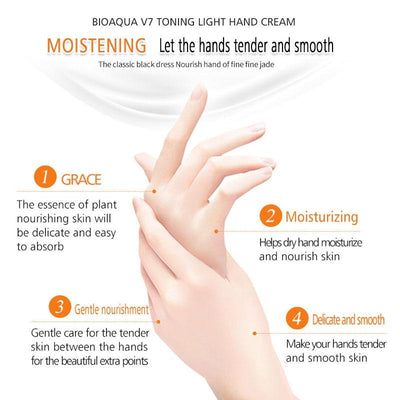 V7  Moisturizing Hand Care Anti Aging Hand Cream