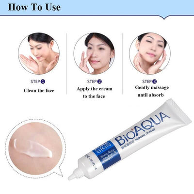 PURE SKIN Acne Scar Removal Rejuvenation Cream - BIOAQUA? OFFICIAL STORE