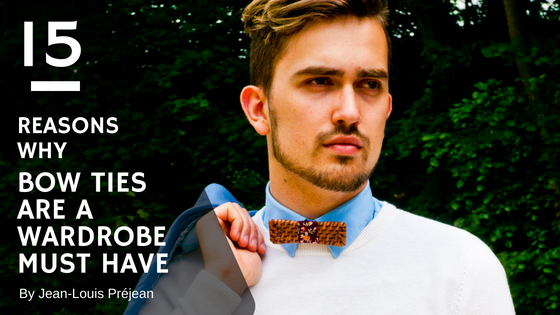 15 Reasons why Bow Ties are a Wardrobe Must Have