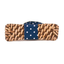 Load image into Gallery viewer, ISABELO Rattan Bow Tie
