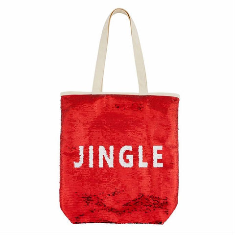 Holiday Sequins Tote