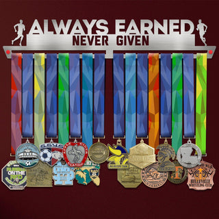 Suport Medalii Always Earned Never Given MASCULIN-Victory Hangers®