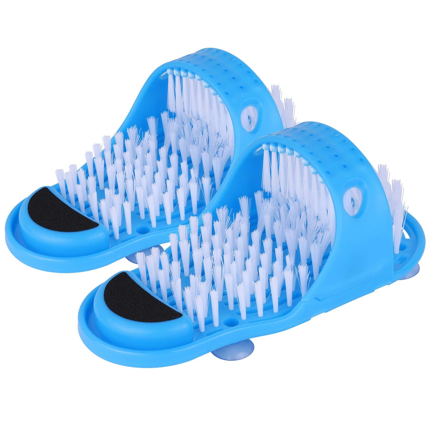 Multipurpose Foot Cleaner, Scrubber & Massage Shower Slippers - The Hummingbird Effect