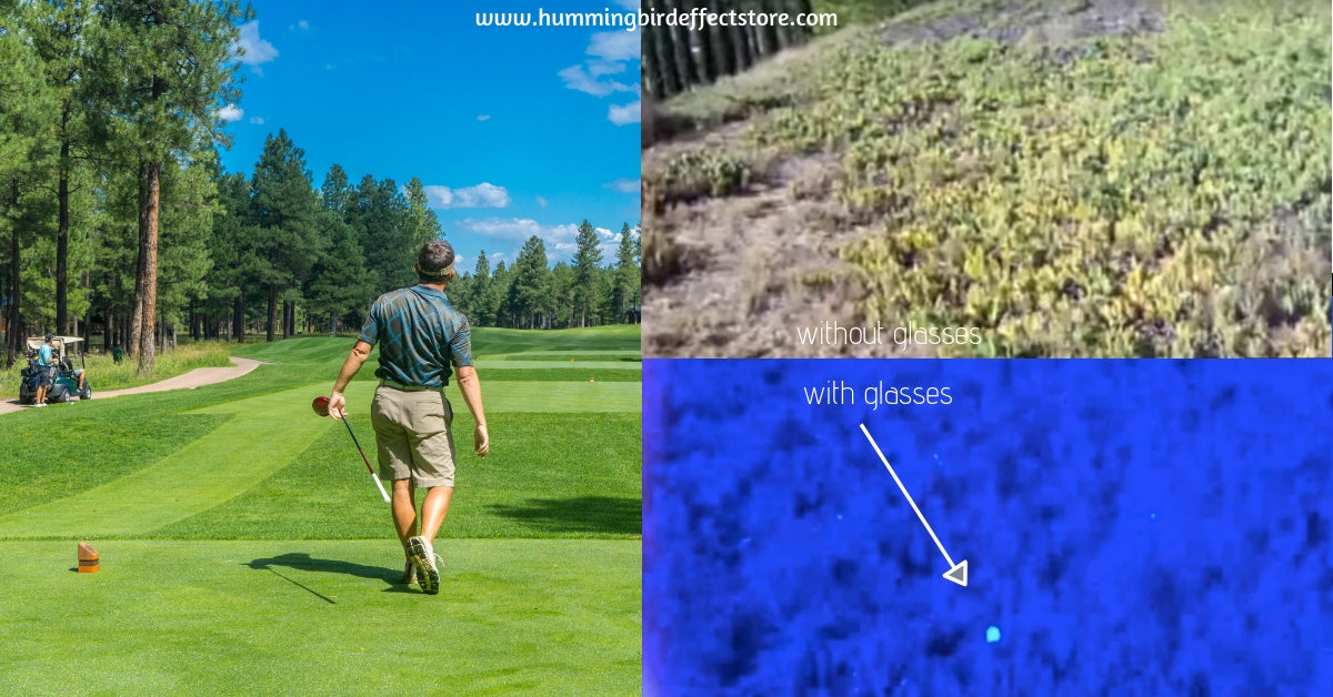 Golf Ball Finder Glasses - The Hummingbird Effect
